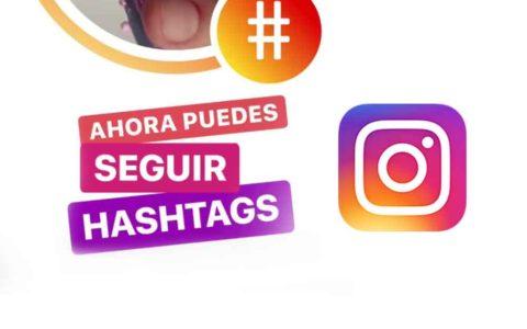Instagram ya permite seguir hashtags